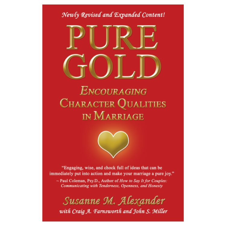 Pure Gold-2nd Ed.: Worksheets PDF - Marriage Transformation®